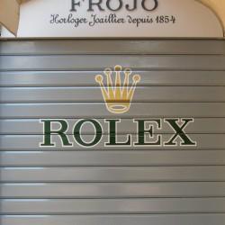 Logo adhésif Rolex