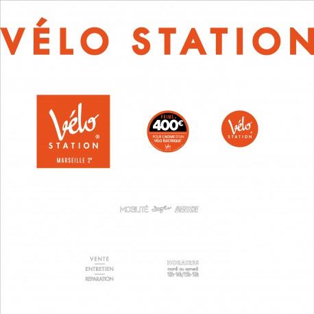 Enseignes VÉLO STATION