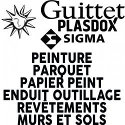 Logos et lettres PVC 19mm noir