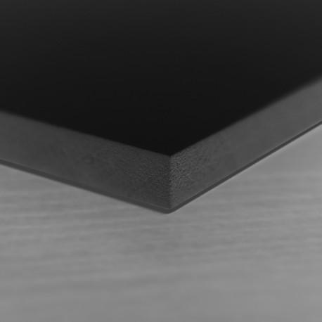 Panneau PVC noir 3mm vierge