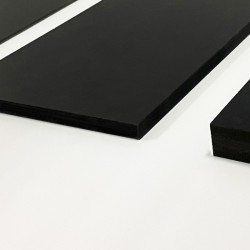Panneau PVC noir 10mm vierge