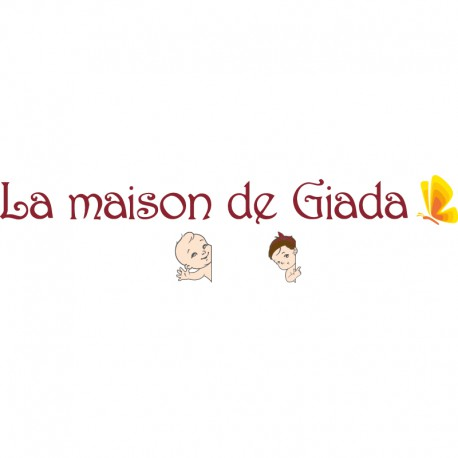 Logos et lettres alu Giada