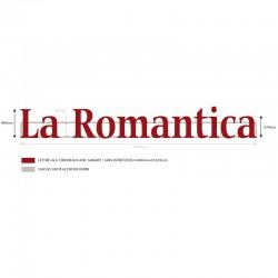 Lettres Alu La Romantica