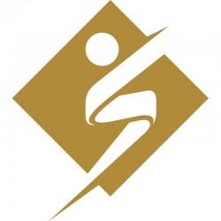 Logo Alu doré 1M10x1M23