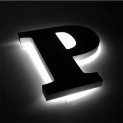 Lettres rétroéclairage LED