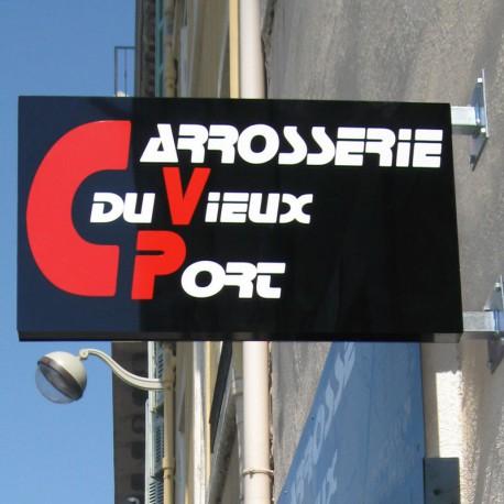 Prodecoup enseignes_caisson-double-faces-adhesif