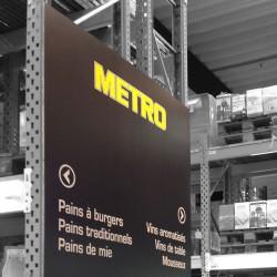 Panneau PVC 3mm Texte Adhésif