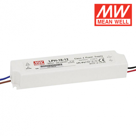 Alimentation LED MEAN WELL LPH-18-12