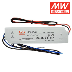 Alimentation LED MEAN WELL LPV-60-12