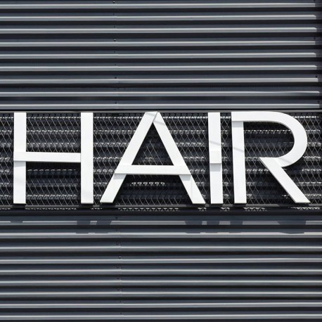Hair-Lettres-relief-PVC-10mm