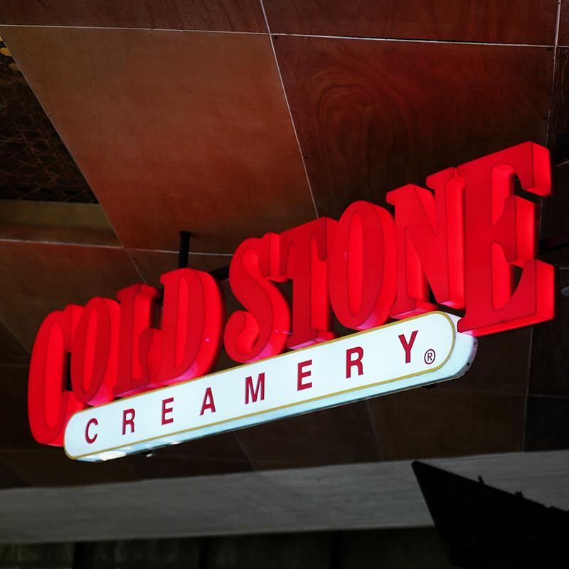 Enseigne Cold Stone Creamery vue 3