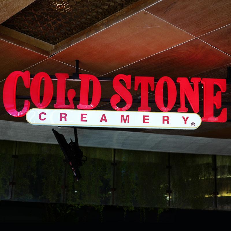 Enseigne Cold Stone Creamery vue 2