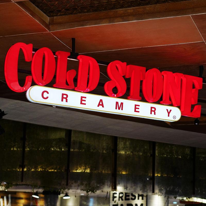 Enseigne Cold Stone Creamery vue 1