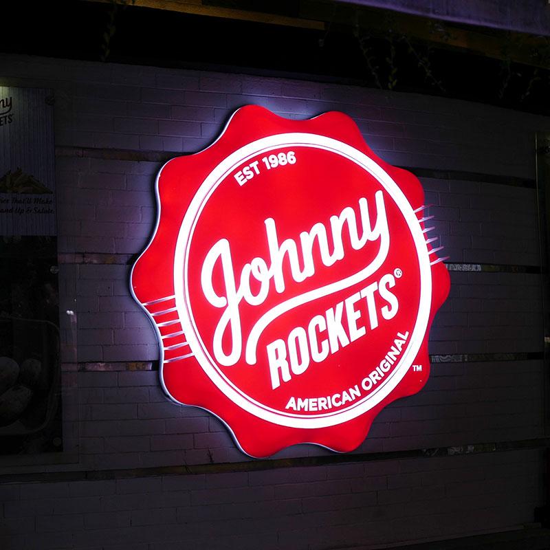 Enseigne Johnny Rockets vue 1