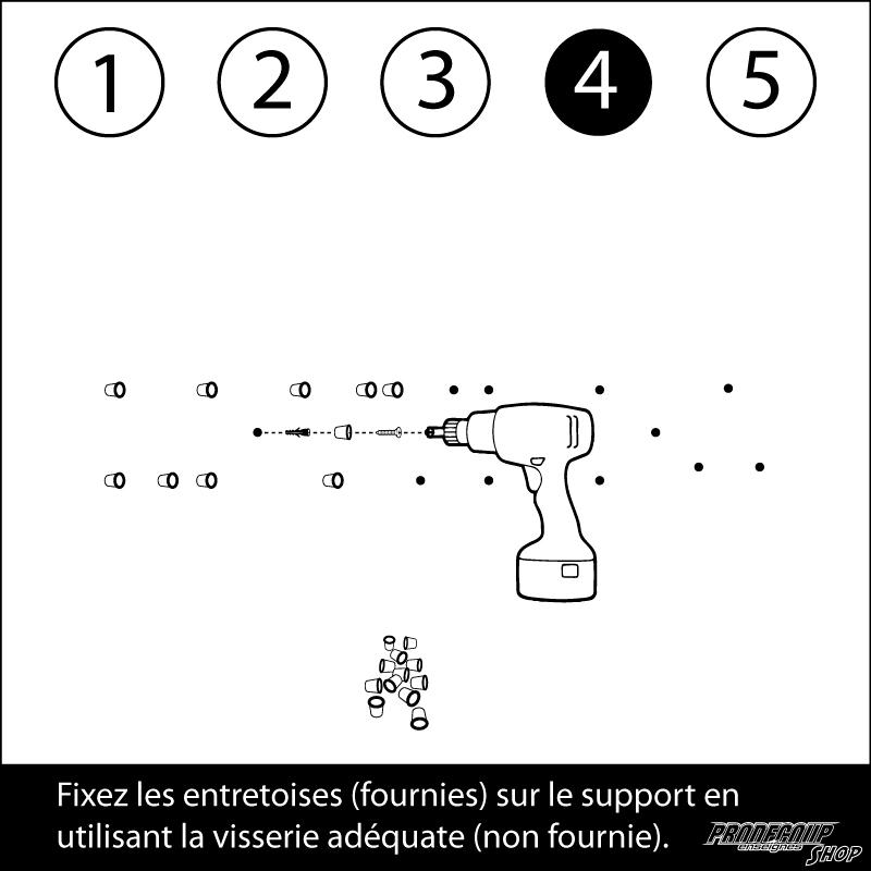 Notice de pose des lettres en relief - 4