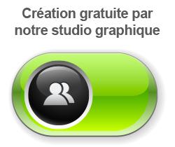 Création gratuite par notre studio graphique