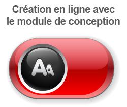 Création en ligne avec le module de conception