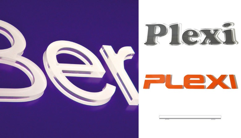 Lettres Plexiglas